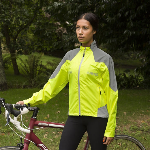 Proviz Nightrider Cycling Jacket 2.0 - Yellow