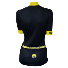 Load image into Gallery viewer, Spokesman Summer Geo Jersey - Yellow