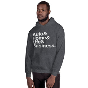 Auto& Home& Hoodie [Multiple Colors, Unisex]