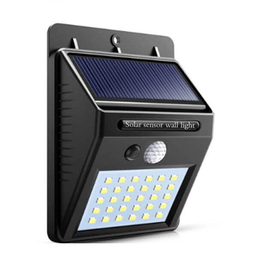30 LED Solar Powered Water Proof Wall Light (Motion Sensor) BUY1TAKE1