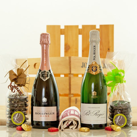 Jones and Jones of Berwick-upon-Tweed Champagne Duo Hamper
