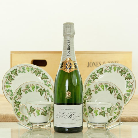 Champagne and Vintage Vines Luxury Gift Hamper
