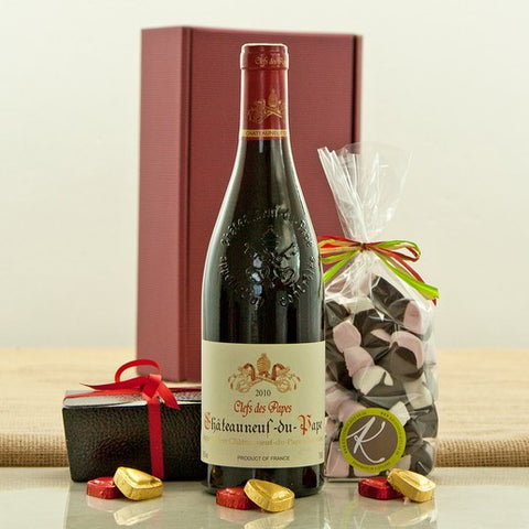 Jones and Jones of Berwick-upon-Tweed Chateauneuf and Chocolates