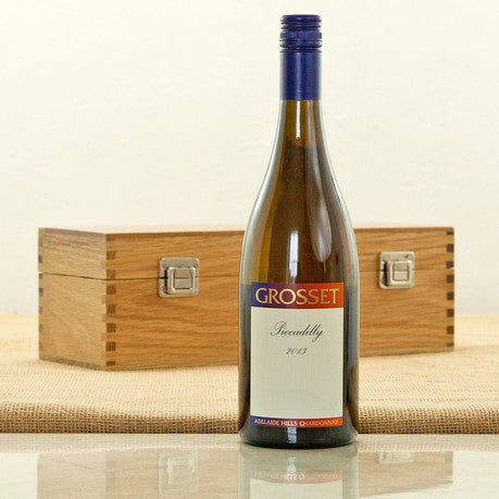 Grosset Piccadilly Chardonnay in an Oak Presentation Case