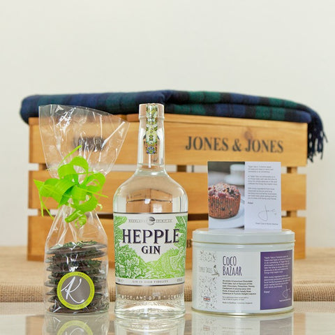 Northumberland Hepple Gin in a Luxury Gift Hamper