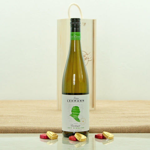 Peter Lehmann Portrait Dry Riesling in a Special Delivery Wooden Box