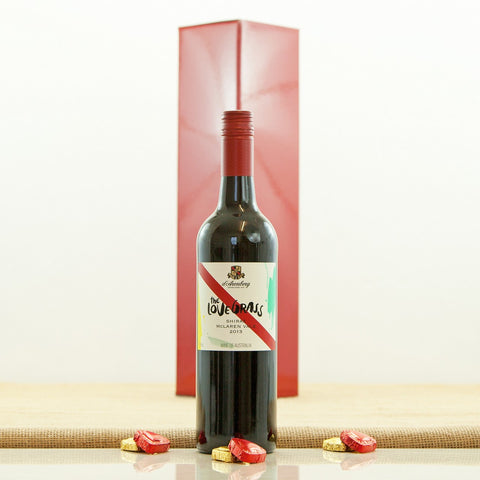 d'Arenberg The Love Grass Shiraz 2013 and Chocolates