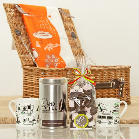 Seaside Holiday themed Coffee Gift Hamper