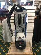 Ping- Hoofer Stand Bag: Gray/Midnight/Blue