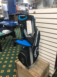 Callaway- Fairway C Stand Bag: Black/Blue