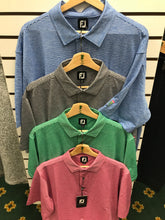 Load image into Gallery viewer, FootJoy - lisle stripe shirt