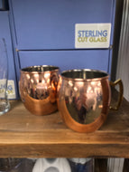 Moscow Mule - Custom TL Logo Copper Mugs