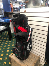 Load image into Gallery viewer, Callaway- Fairway C Stand Bag: Black/Red