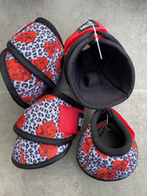 Load image into Gallery viewer, Cheetah Rose Bell Boots