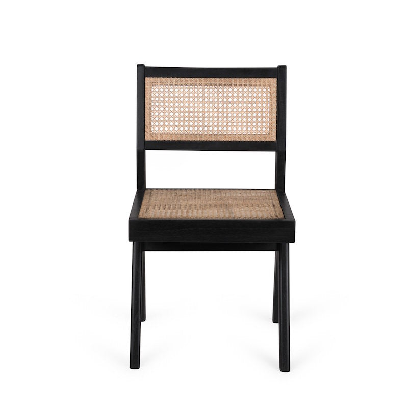 DETJER DINING CHAIR - RATTAN CANE