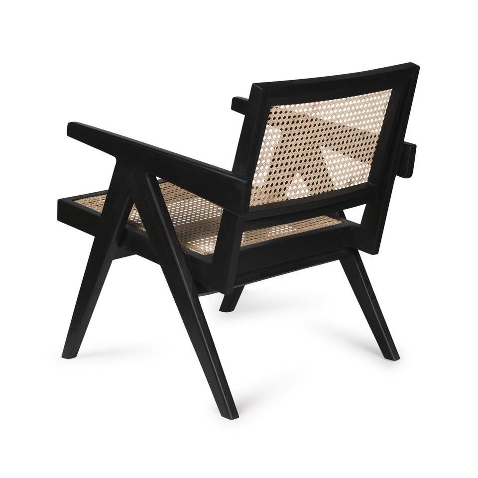 EASY LOUNGE CHAIR - RATTAN CANE