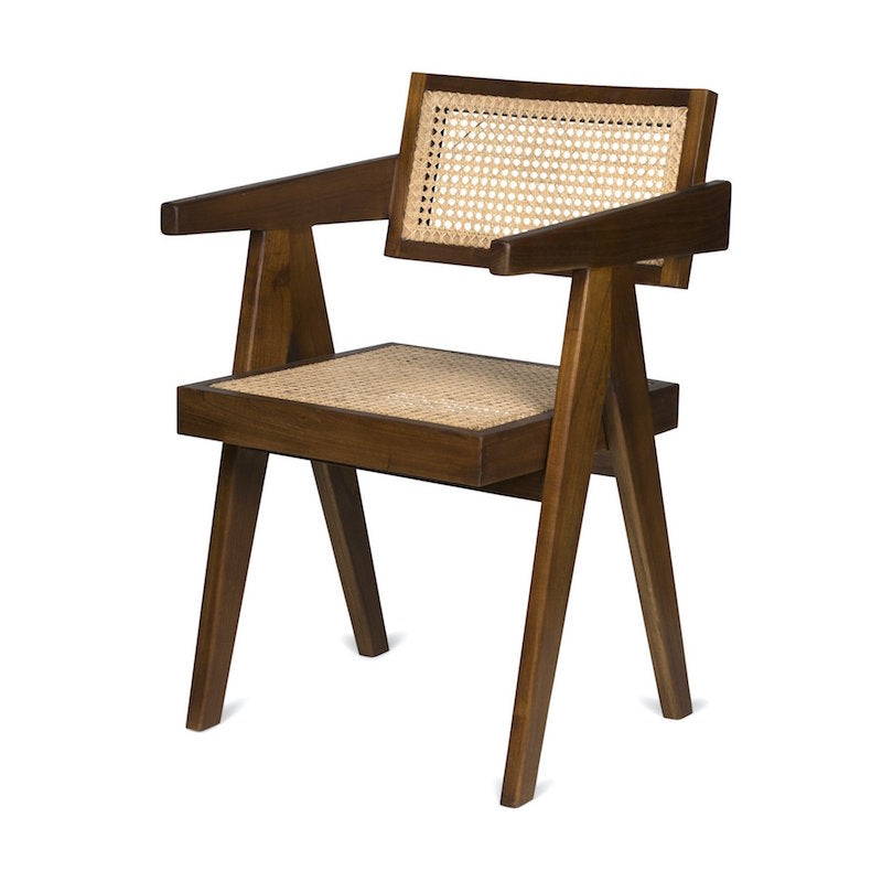 OFFICE CHAIR - RATTAN CANE