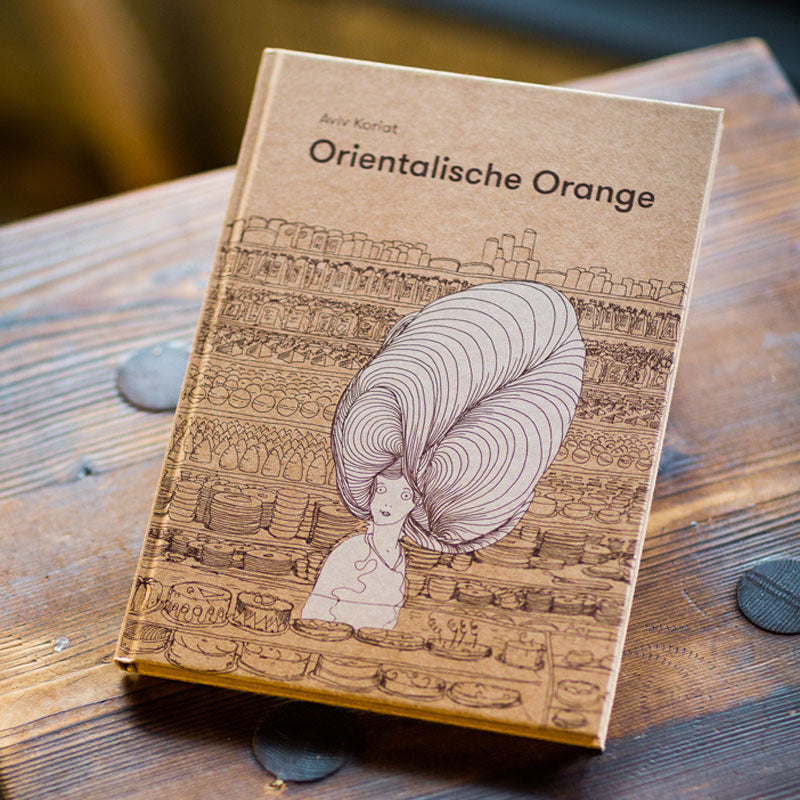 Buch Orientalische Orange