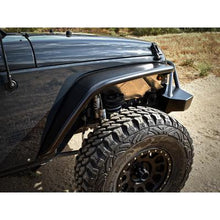 Load image into Gallery viewer, PS  Jk Front Crusher Flares Black Powder Coat - 17-03-030P1