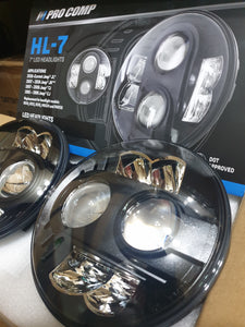 "Pro Comp Headlight 7"" Led Pair  - 76402P"