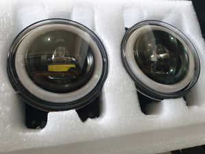 Pro Comp 3.5 accessory halo Ring LED Fog Lights JK PAIR - 76504P