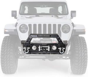 Smittybilt Stryker Front Bumper for 07 to 18+ Jeep Wrangler and Gladiator - 76730