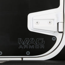 Load image into Gallery viewer, SB Black Mag-Armor Magnetic Trail Skin for JK 4-Door - 76994