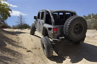 SB XRC Rear Armor Corner Guards for Jeep JK