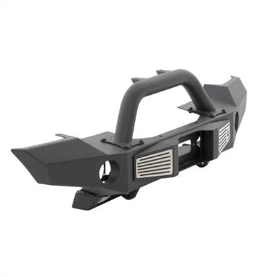 SB XRC Atlas Front Bumper with Grill Guard and Fog Light Holes (Black) - 76892