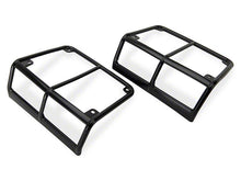 Load image into Gallery viewer, SB Euro Tail Light Guards; Black (07-18 Jeep Wrangler JK) - 8665