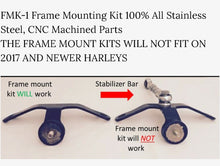 Load image into Gallery viewer, Frame Mounted Kit for Harley Davidson