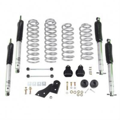 RE JK 2.5 Inch Standard Coil Lift Kit with Mono Tube Shocks - RE7121M
