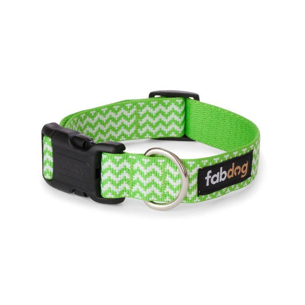 Green Chevron Collar