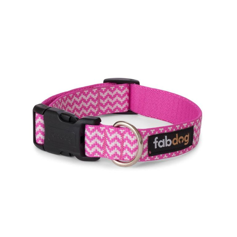 Pink Chevron Collar