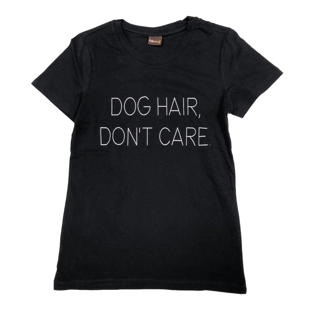 Matching Human Dog Hair, Don't Care T-shirt
