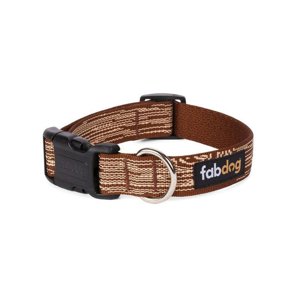 Brown Faux Bois Collar