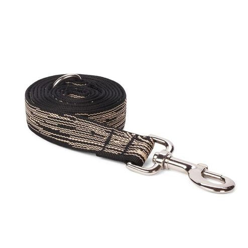 Black Faux Bois Leash