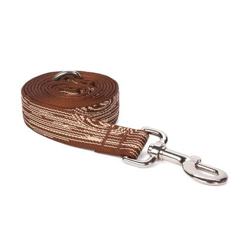 Brown Faux Bois Leash