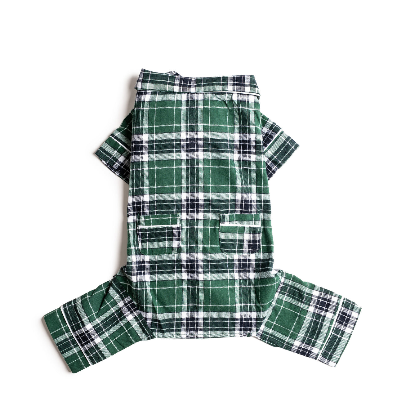 Green Plaid Pajamas