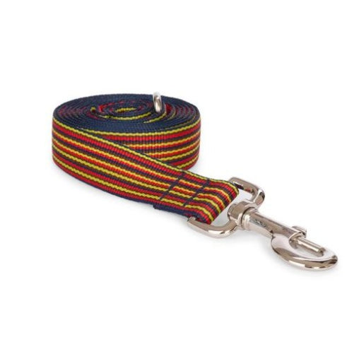 Red Mini Stripe Leash