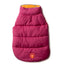 Hot Pink & Orange Reversible Puffer