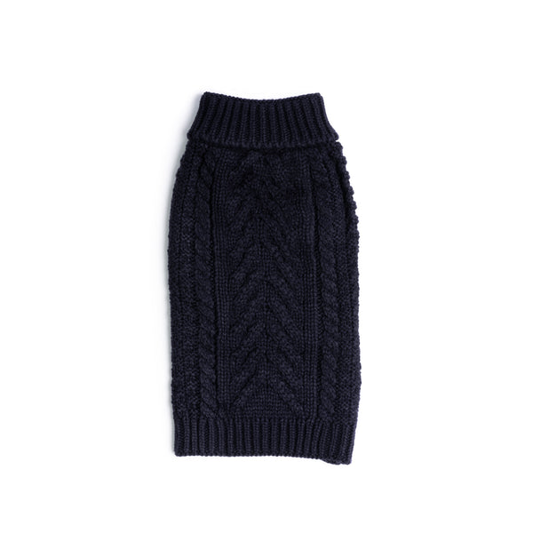 Navy Super Chunky Sweater