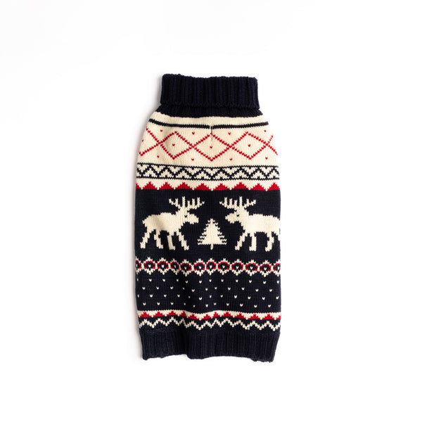 Navy Fairisle Sweater