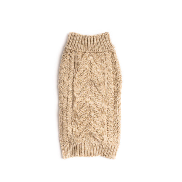 Oatmeal Super Chunky Sweater