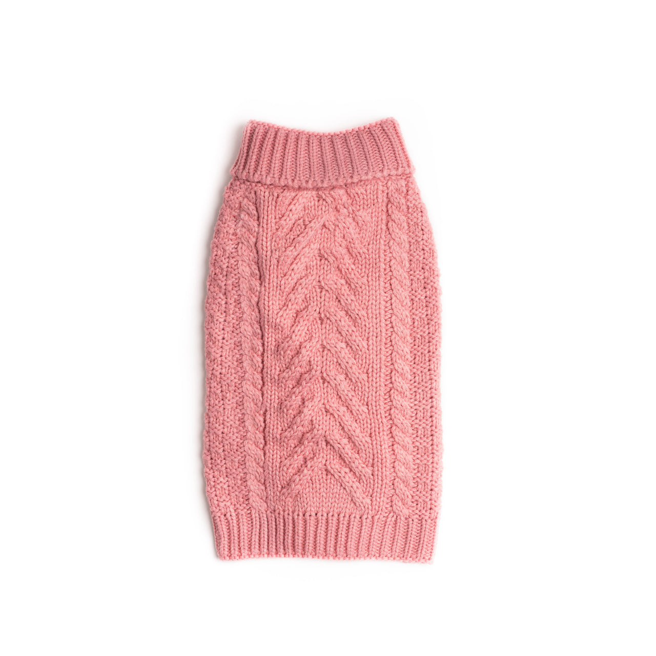 Pink Super Chunky Sweater
