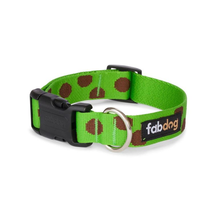 Green Polka Dot Collar