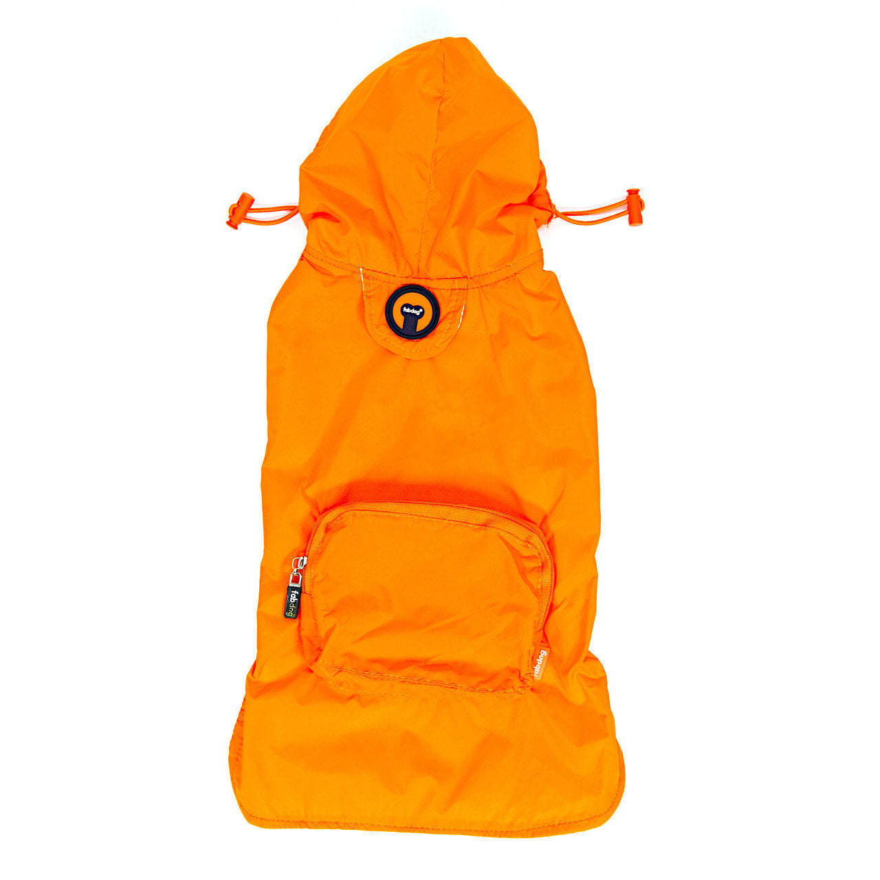 Orange Packaway Raincoat