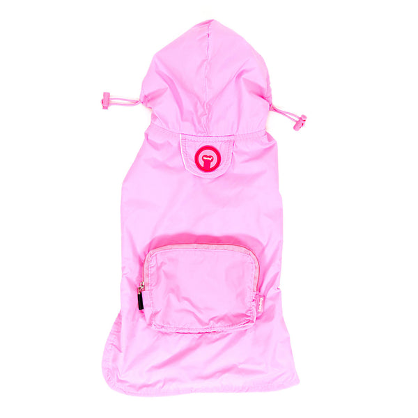 Light Pink Packaway Raincoat