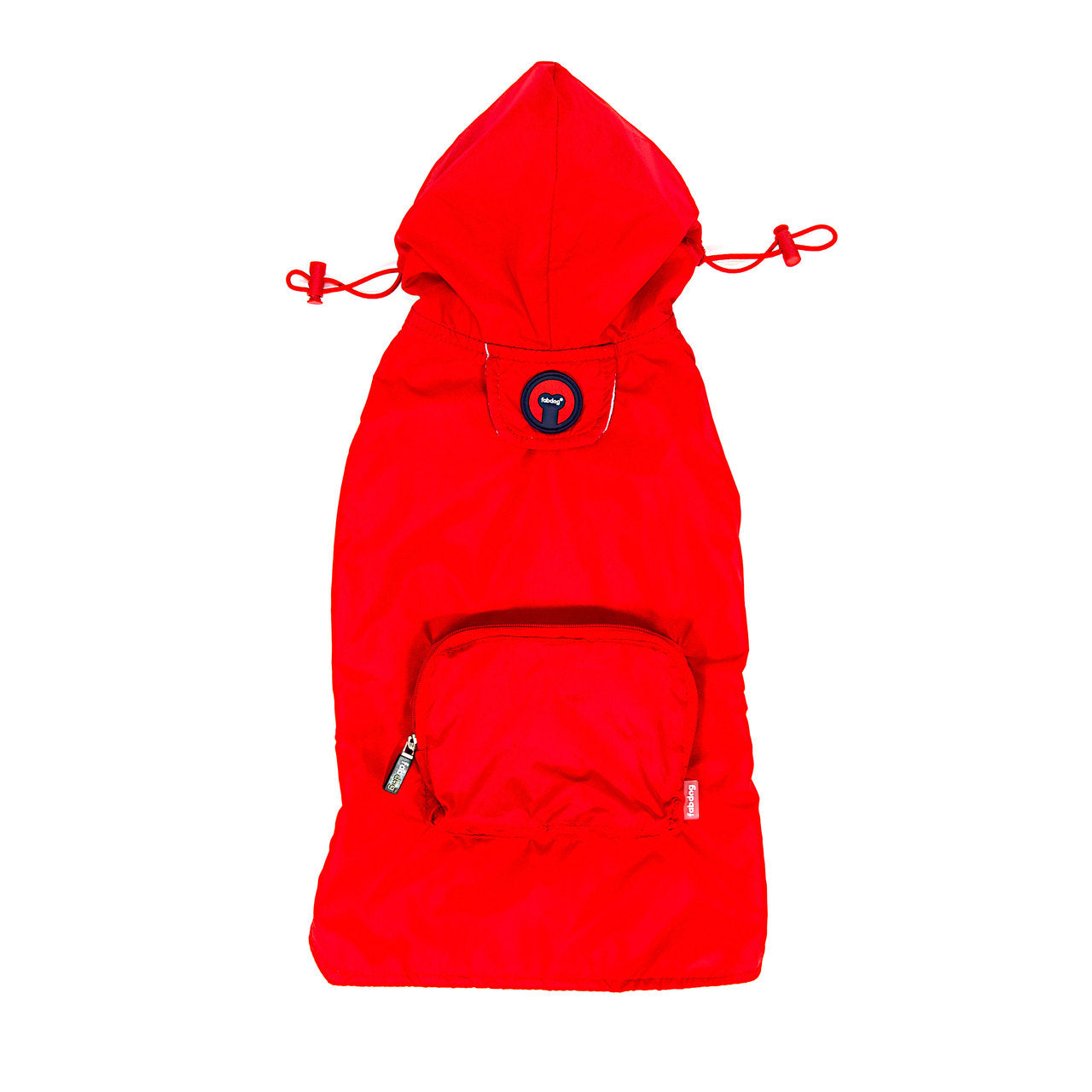 Red Packaway Raincoat