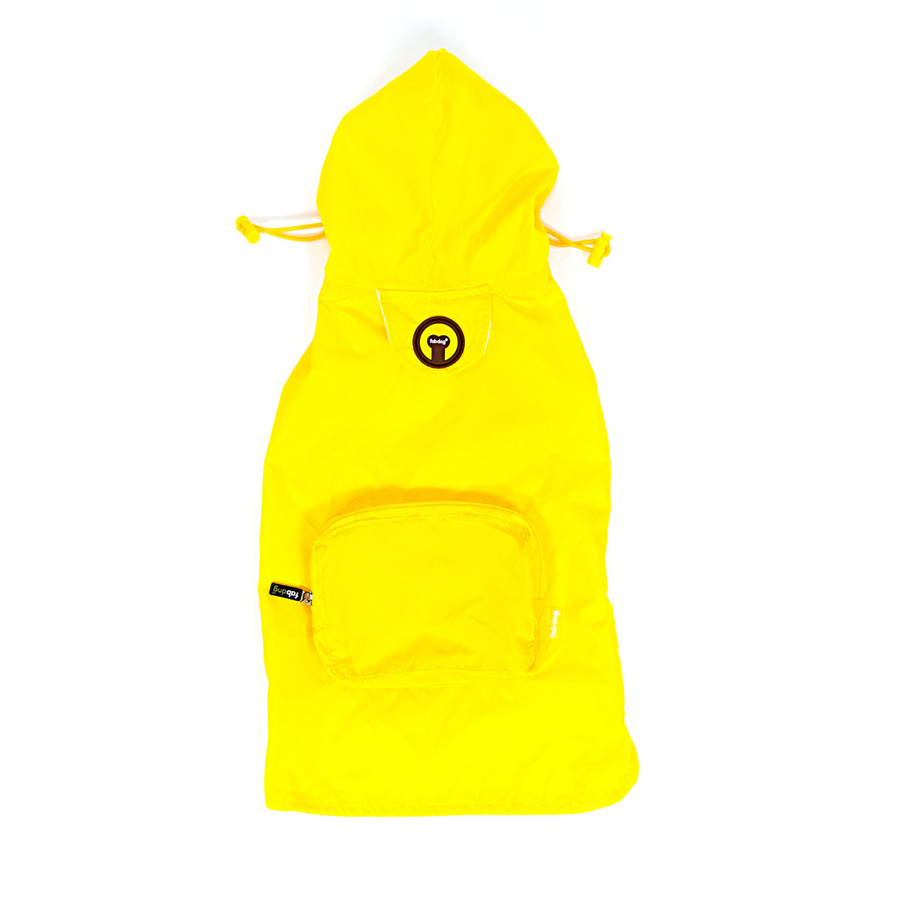 Yellow Packaway Raincoat